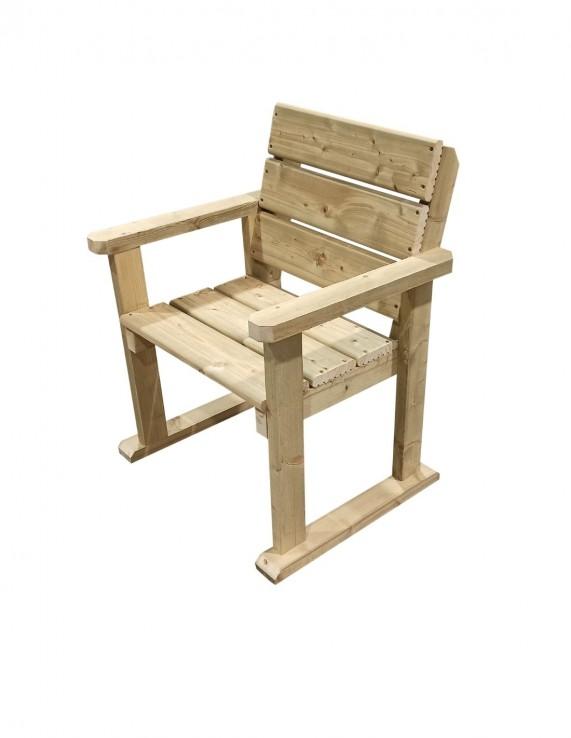 Heavy Duty Timber Garden Chairs, Wooden Garden Furniture
